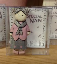 East of India Special Nan Hand Carved Figurine